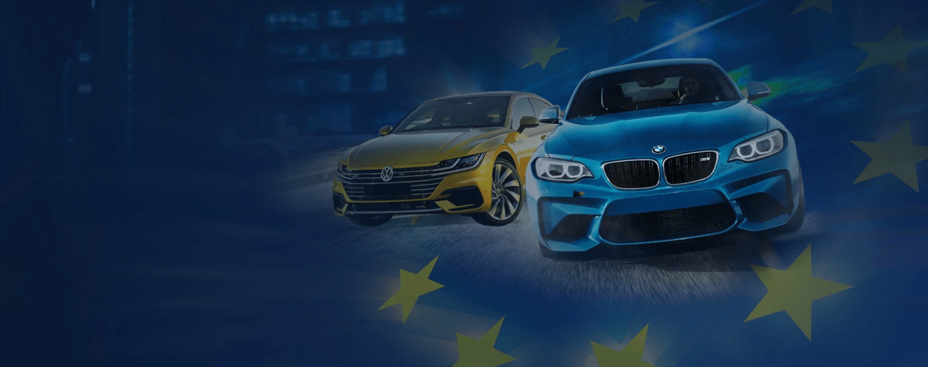 Registration of used cars with a European number