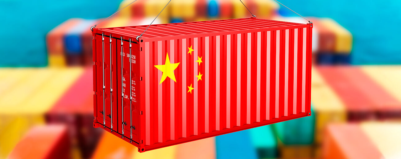 The prediction of rates for container shipping from China